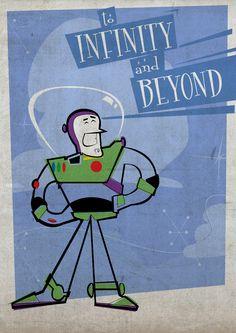 Buzz Lightyear Cartoon Modern style  by Laurens van Walbeek