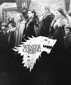 The Stark family of Winterfell