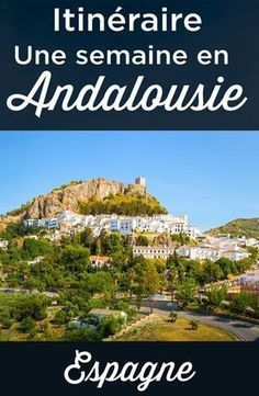 The best itinerary for a week in Andalucia. What to do during your 7 or 8 days trip to Andalusia + Accomodations suggestions + Best tips for 1 week stay. Everything you need to know to plan tour trip to this beautiful region located in the south of Spain. Cadiz, Andalusia Spain, Andalusia Travel, Malaga Spain, South Of Spain, Destination Voyage, Spain And Portugal, Europe Destinations, Menorca
