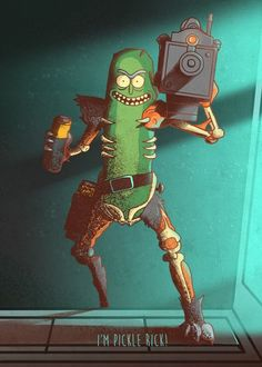 "Rick And Morty Character Poses Pickle Rick artwork by artist ""Retina C. - Rick And Morty Character Poses Displate Posters Rick Wallpaper, Iphone Wallpaper, Trippy Wallpaper, Marvel Wallpaper, Rick And Morty Drawing, Rick I Morty, Rick And Morty Characters, Rick And Morty Poster, Ricky And Morty"