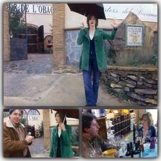 Joan Cusack, Carles Pastrana on Clos de l'Obac Winery,Priotat, wine, Gratallops.