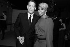 Tom Hanks et Mary J. Blige