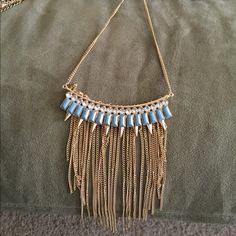 Dangle statement necklace Statement necklace with adjustable chain. Jewelry Necklaces