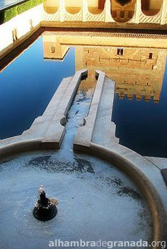 Court of the Myrtles- Alhambra. Granada, Spain