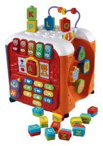 Amazon.com: VTech Alphabet Activity Cube: Toys & Games