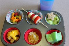 Seuss muffin tin lunch (from Heart Journey)