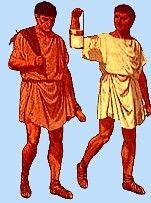 500 BCE: Ancient Roman peasant men's clothing