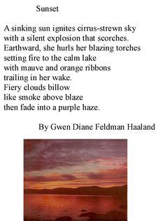 """Sunset"" by Gwen Haaland"