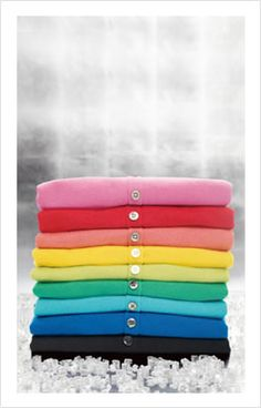 Give Color - cardigans from Ann Taylor
