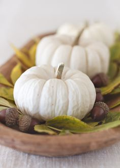 Simple Things Blog: Autumn Centerpiece