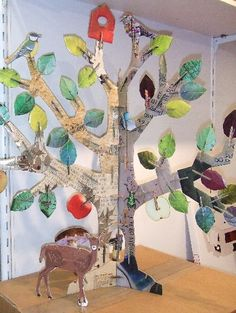 1000 id es sur arbre en carton sur pinterest no l. Black Bedroom Furniture Sets. Home Design Ideas