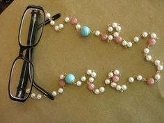 5688b4fbc24 Eyeglass beads that will make your frames proud. Womens Glasses