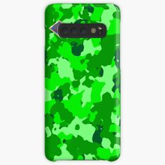 'Light Green hue camo' Case/Skin for Samsung Galaxy by MidnightBrain Sun And Clouds, Canvas Prints, Art Prints, Cell Phone Cases, Hue, Camo, It Works, Duvet Covers, My Arts