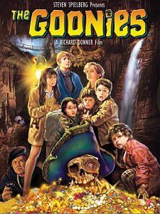 Although the movie's end credits name Bodega Bay, the final scene of The Goonies was actually filmed at Goat Rock State Beach, just south of Jenner, CA!