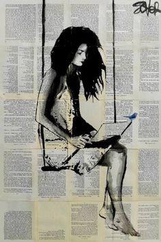 """Saatchi Art Artist Loui Jover; Drawing, """"spell"""" #art"""