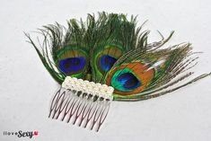 DIY Peacock Headpiece