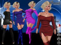 Sweet Temptations :: Dancing Queen Outfit (Maitreya Lara, Belleza Venus, Slink Physique) + High Boots