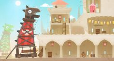 I love the style used for the Tiny Thief game. Simple vector shapes with a good mix of texture