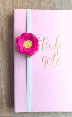 Your place to buy and sell all things handmade Cute Crafts, Felt Crafts, Diy And Crafts, Crafts For Kids, Paper Crafts, Felt Flowers, Fabric Flowers, Felt Bookmark, Ribbon Bookmarks