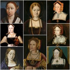 Katharine of Aragon Catherine Of Aragon, Witch Outfit, Famous Women, King Queen, Tudor, Oil Paintings, Queens, Period, Royalty