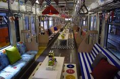 IKEA Transforms An Entire Monorail Line Into A Mobile Showroom [Pics] - PSFK