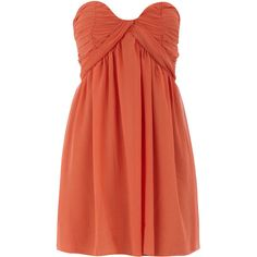Rust babydoll mini dress...have it...too small...would any one like to buy it for 25?