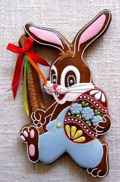perchta No Sugar Foods, Low Sugar, Sweet Cookies, Sugar Cookies, Baby Girl Cookies, Cake Art, Happy Easter, Cookie Recipes, Cake Decorating