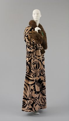 """La Perse"" evening coat ca. 1911 via The Costume Institute of The Metropolitan Museum of Art"