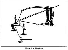Traps and snares 101. Great how-to survivalist lore. Download SEALs Marine & Army Survival guides to your smart phones and tablets for a very different kind of read, from Google Play Store, for 99 cents each, y'all.
