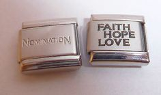 #Faith hope love #italian charm - with/out #nomination link fits classic bracelet, View more on the LINK: http://www.zeppy.io/product/gb/2/121804365763/