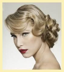 Old Hollywood Hair.  It has not ever gone out of style.