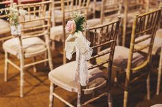 wedding ceremony chairs at hales hall and great barn wedding venue