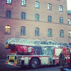 #copenhagen #firehouse #ladder