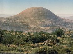 Mount Tabor - site of the battle between the Israelites