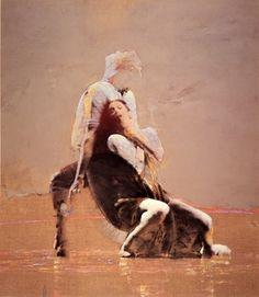 ロバート・ハインデル 《ダンス オブ パッション》 1982年 (C) Robert Heindel