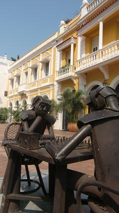 Cartagena, Colombia. Uno de mis restaurantes preferidos San Pedro