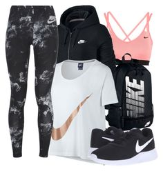 """Just Do It"" by richinfashion ❤ liked on Polyvore featuring NIKE"
