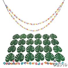 Planning a luau or a tropical event? We'll help you with the party decorations! This decorating kit contains tropical touches that you can add to . Luau Party Supplies, Luau Theme Party, Luau Pool Parties, Wedding Supplies, Party Themes, Tissue Balls, Luau Decorations, Cactus Gifts, Fun Express