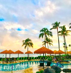 Rise and Shine. Morning light at Sheraton Kauai Resort