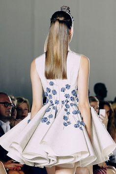{fashion inspiration | runway : giambattista valli couture autumn/winter 2014} by {this is glamorous}, via Flickr