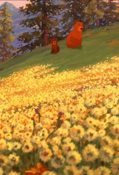 brother bear - Definitely my favorite Disney movie but probably one of my favorite movies ever :)