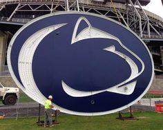 The New Beaver Stadium Scoreboards' LED Logos Are Gigantic/Awesome