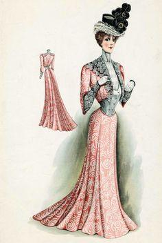 vintage 1900 movie fashion | Victorian Fashion - 1900Women Fashion, Vintage Fashion, Fashion Plates ...