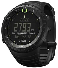 Suunto Core All Black Outdoors Watch