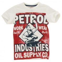 Petrol Industries - T-shirt Print wit