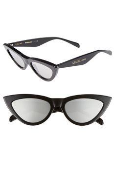9e600fd8216 Free shipping and returns on Céline 56mm Cat Eye Sunglasses at  Nordstrom.com. Sleek