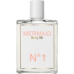 Mermaid Perfume Body Oil No.1 300ml (200 BRL) ❤ liked on Polyvore featuring beauty products, fillers, beauty, makeup, perfume and mermaid