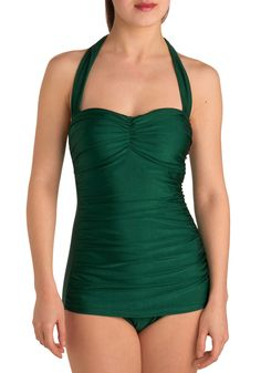 Bathing Beauty One Piece in Emerald by Esther Williams - may be ordering this