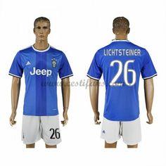 Juventus Fotbalové Dresy 2016-17 Lichsteiner 26 Venkovní Dres