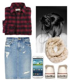 """There's somethin in the atmosphere It's givin us somethin different here I think it's time that we ignite Bring the blaze into the night"" by emily-princess ❤ liked on Polyvore featuring Converse, Ksubi, Jacques Vert and Samsung"